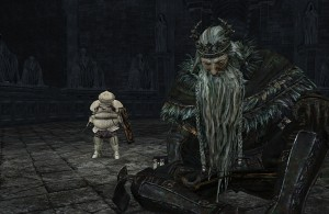 Dark Souls 2 - Crown of the Old Iron King Vendrick Meeting