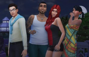Gone With The Sims Characters