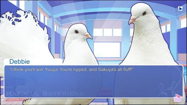 Hatoful Boyfriend - Yuuya So Ripped