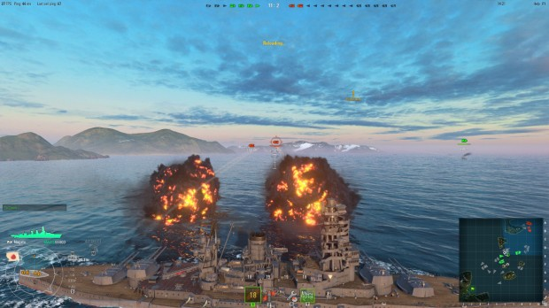 World Of Warships - Deck Turrets