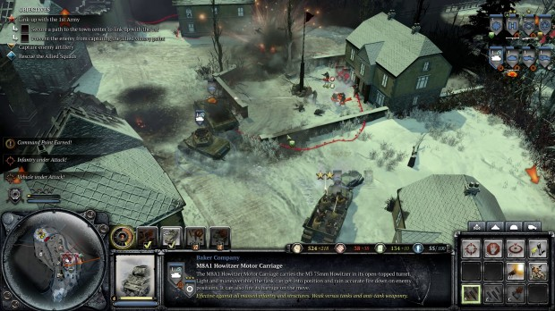 COH2AA - Gameplay Baker Mechanized