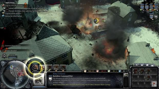 COH2AA - Gameplay Baker Mechanized 2