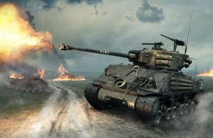 World of Tanks - M4A3E8 Fury Sherman