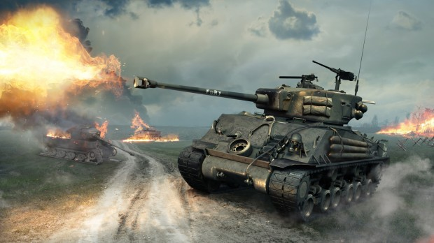 World of Tanks - M4A3E8 Fury Sherman