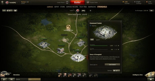 World of Tanks - Command Center