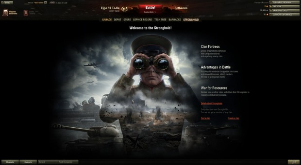 World of Tanks - Welcome to Stronghold