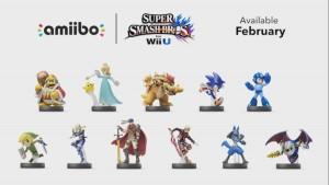 Super Smash Bros Amiibo Nintendo Direct Jan 2015