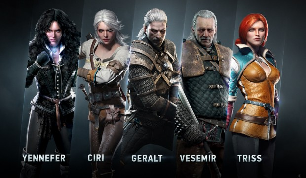 The Witcher 3 Main Characters