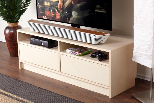 n1 Surround Bar White Living Room