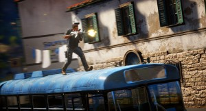 Just Cause 3 - Bus Shooting