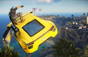 Just Cause 3 - Car Surfing