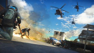 Just Cause 3 - Helicopter Attack