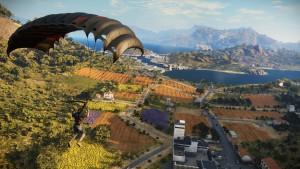Just Cause 3 - Parachuting Fields