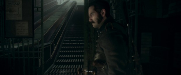 The Order 1886 - Whitechapel Escalators