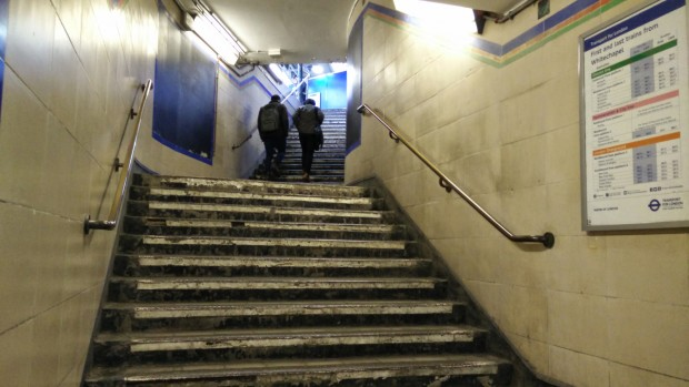Whitechapel Stairs