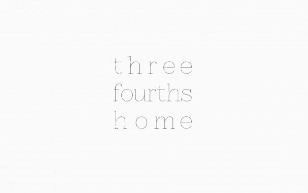 Three Fourths Home Logo