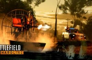 Battlefield Hardline Airboat Chase