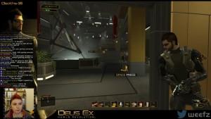 Deus Ex Gameplay Twitch Screenshot
