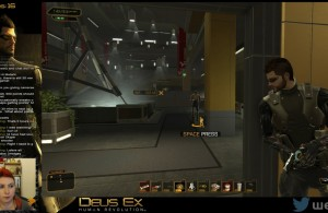 Deus Ex Gameplay Twitch Screenshot