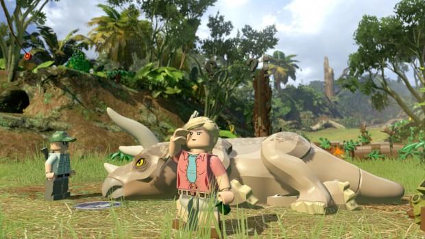 LEGO Jurassic World - Sick Triceratops