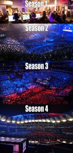 League of Legends Championship Finals 2011 - 2014 600px