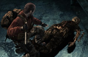 Res Evil Revelations 2 - Barry Crouching