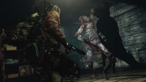 Res Evil Revelations 2 - Barry vs Mutilated Zombie