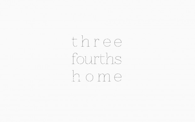 Three Fourths Home Logo