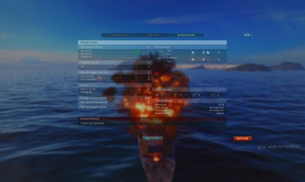 World of Warships - Ramming Stats