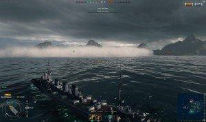 World of Warships - Base Capture Fog of War