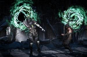 Mortal Kombat X Quan Chi Scorpion