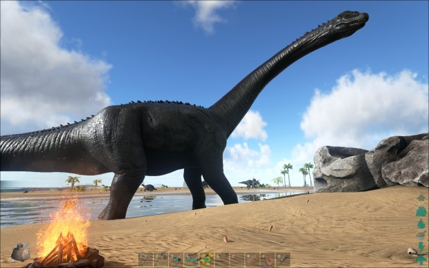 ARK Survival Evolved - Brontosaurus