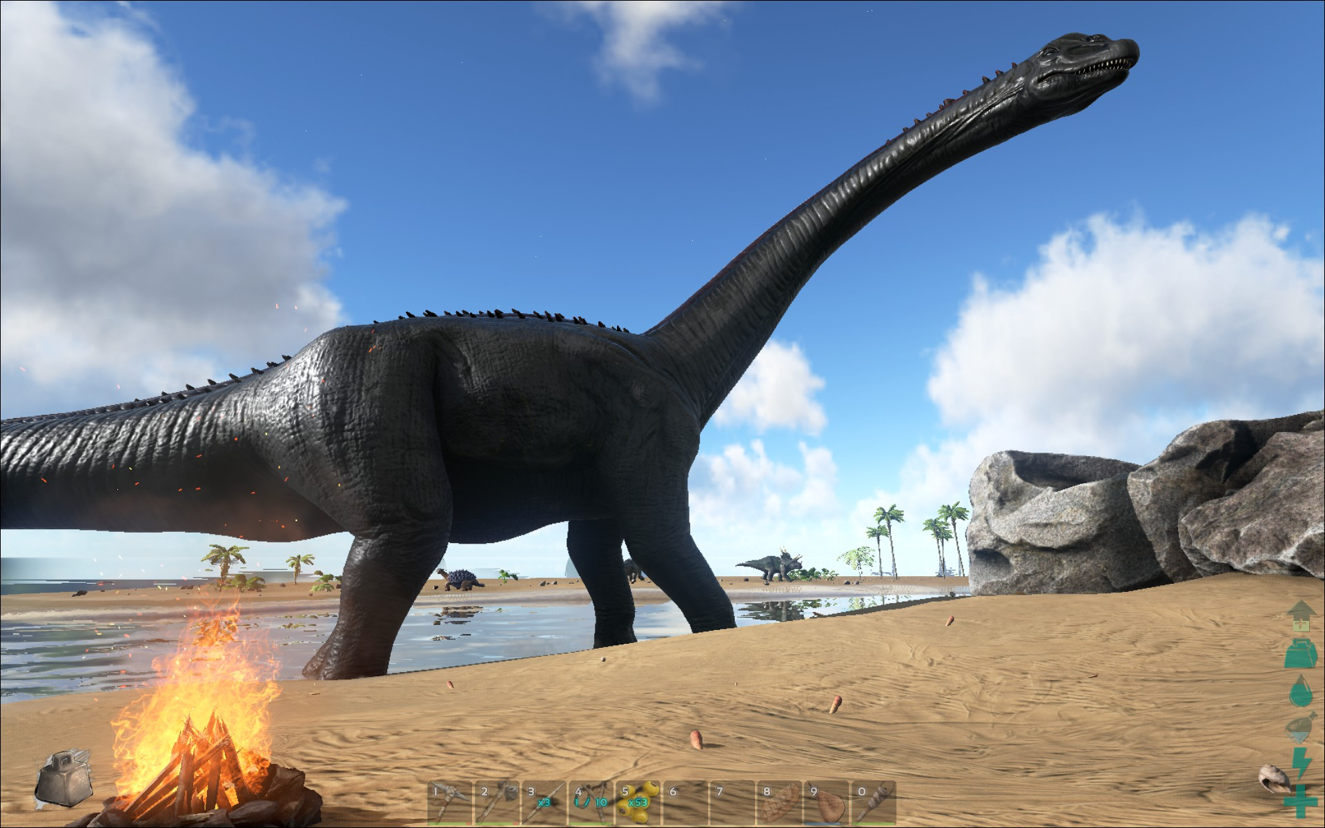 Beginners guide getting started in ark survival evolved the ark survival evolved brontosaurus malvernweather Gallery