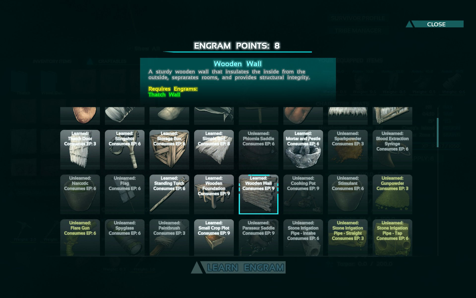 Beginners guide getting started in ark survival evolved the ark survival evolved engrams malvernweather Image collections