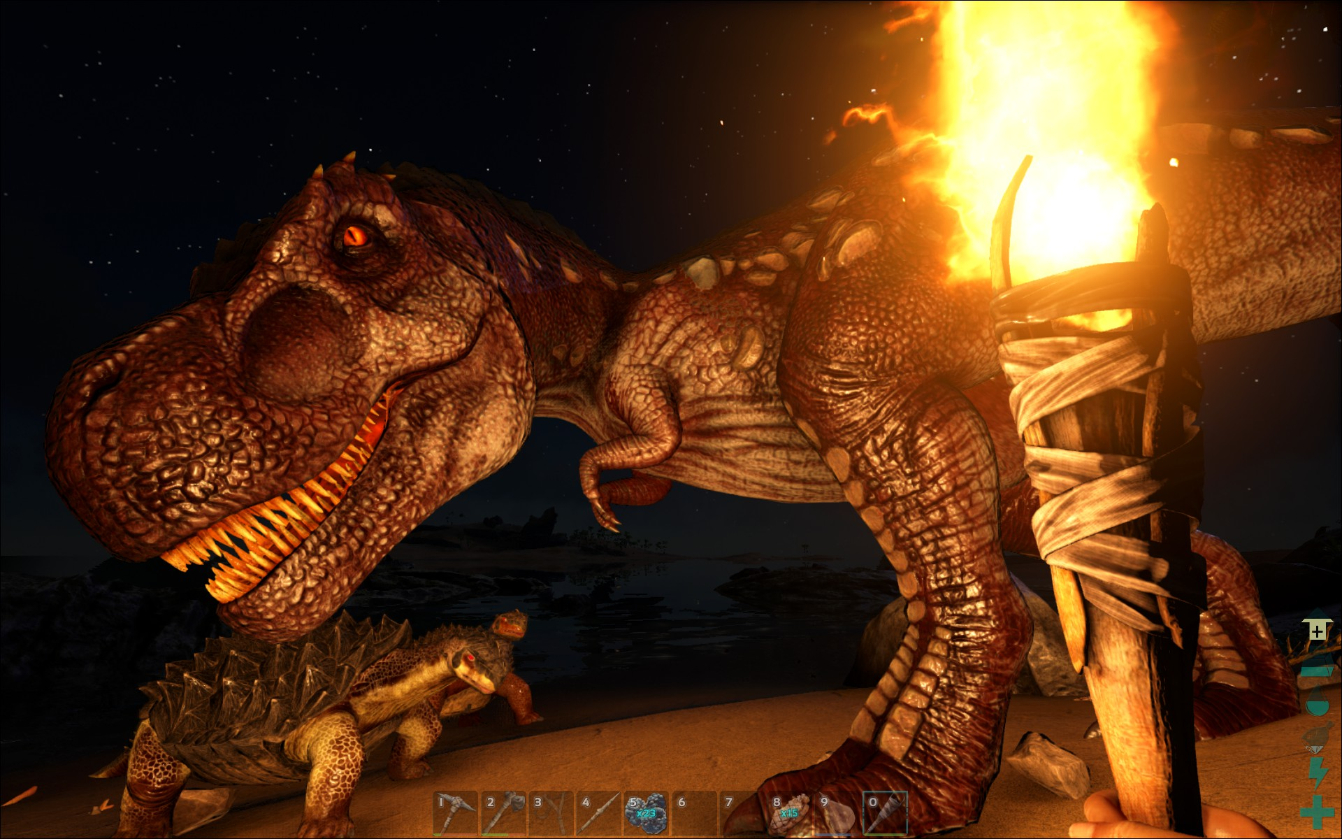 Beginners guide getting started in ark survival evolved the ark survival evolved t rex malvernweather Images
