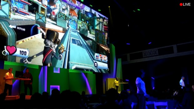 E3 2015 - EA Conference Stage PvZGW2