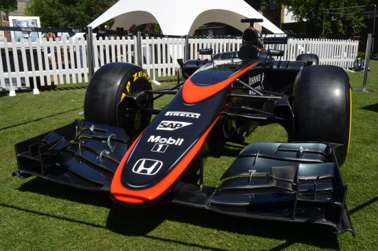 Race week London 2015 - McLaren F1 Car