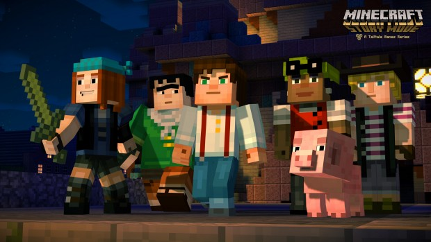 Minecraft Story Mode Jesses Group