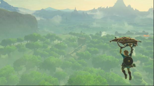 E3 2016 Zelda Link Landscape